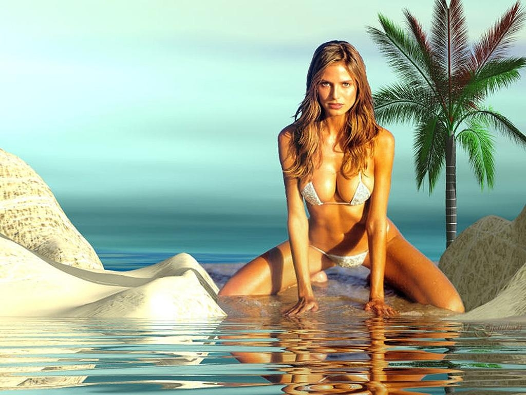 real naked female body