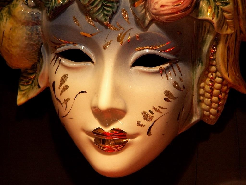 Картинка японских масок