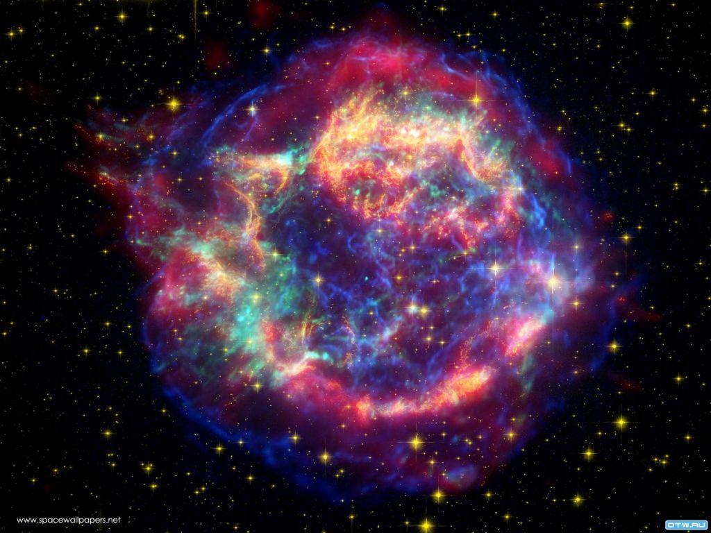 Магнитное сияние в космосе картинки