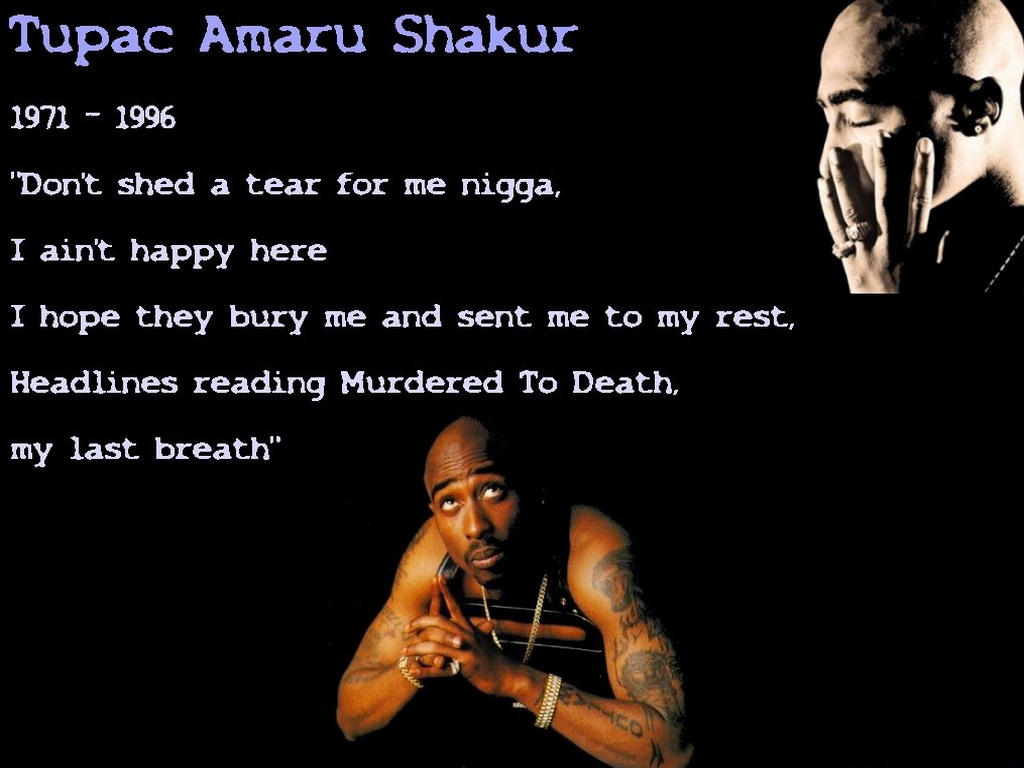 an introduction to the life of tupac amur shakur