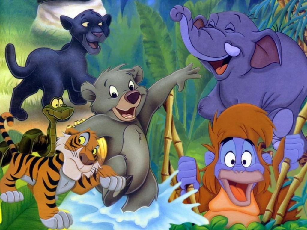 Книга джунглей 2 мультфильм скачать бесплатно