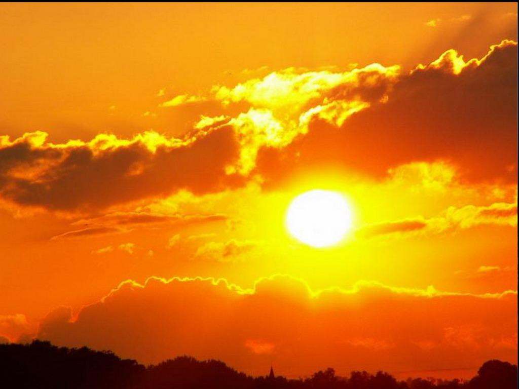 Восход солнца обои для рабочего стола