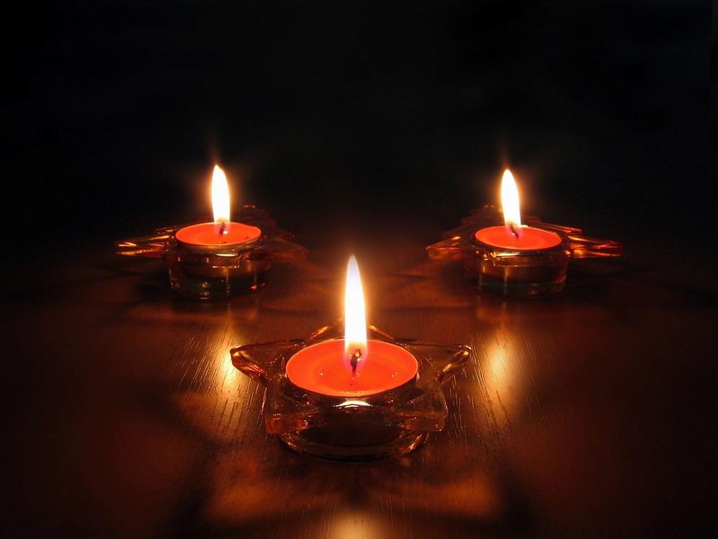 Картинки со свечами и цветами 8