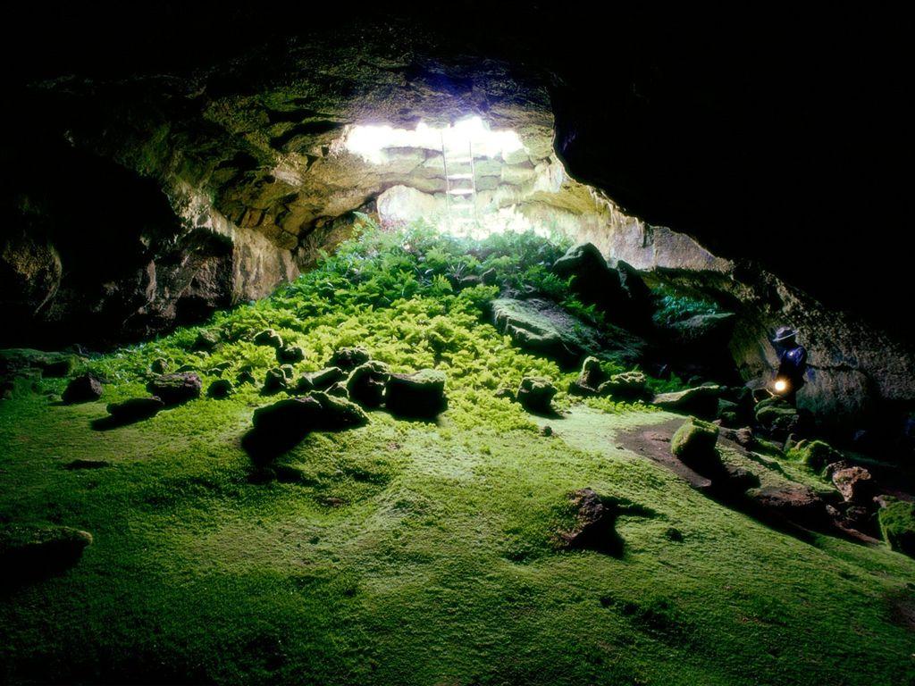 Зелёная пещера скачать фото на