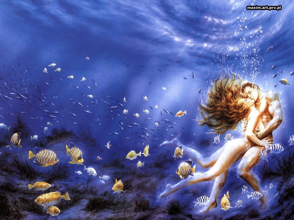Фон высокого разрешения черепахи под водой