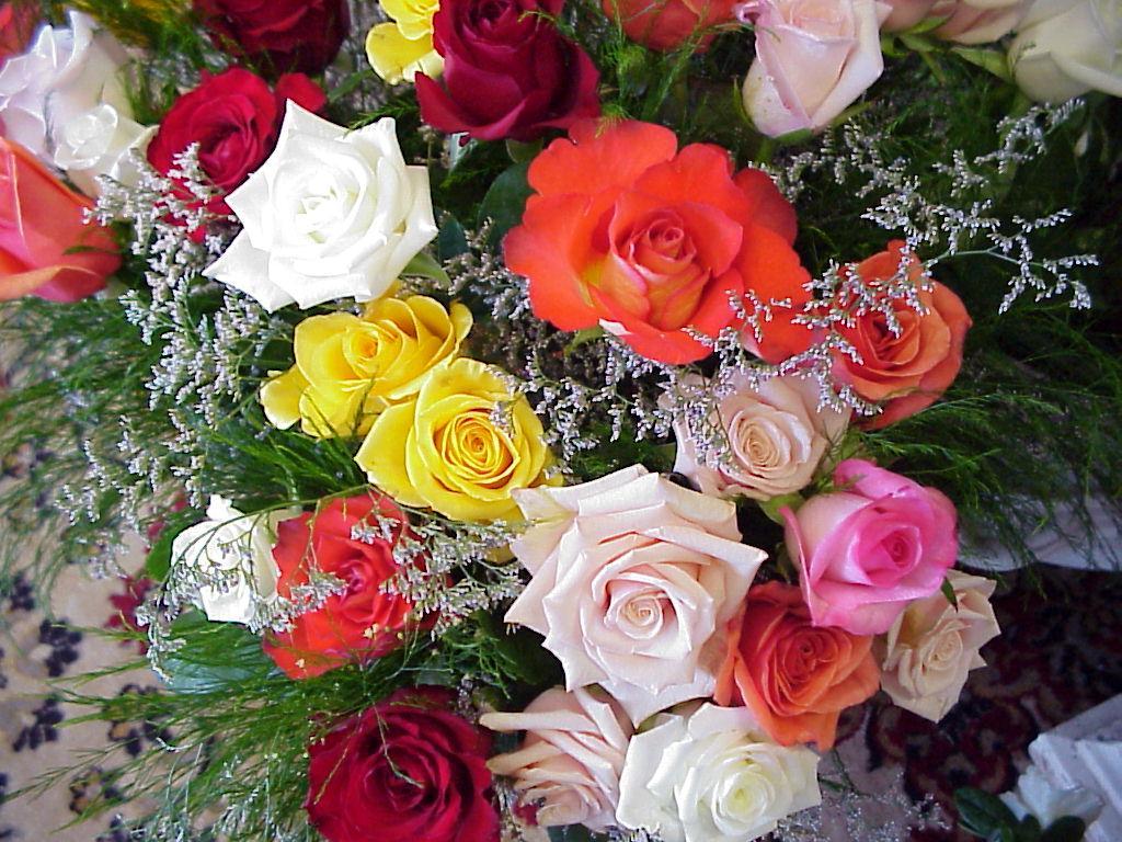 Картинка букет троянд завантажити