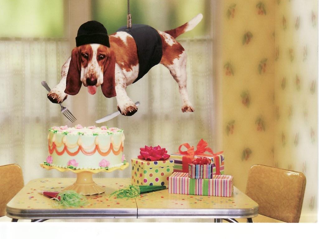 Прикольные поздравления к торту 59