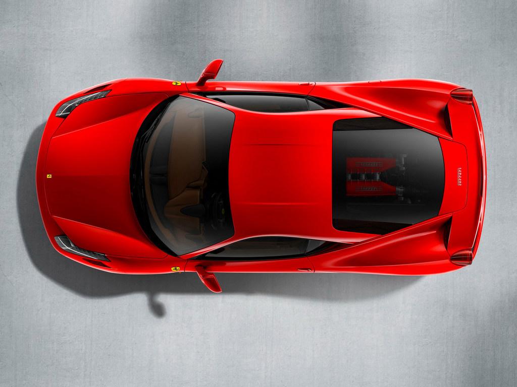 Новый супер кар Ferrari 458 ITAL…
