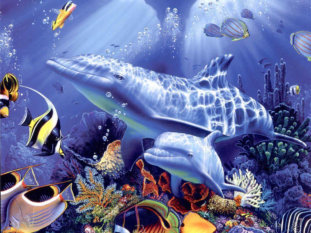 Подводный мир картинки
