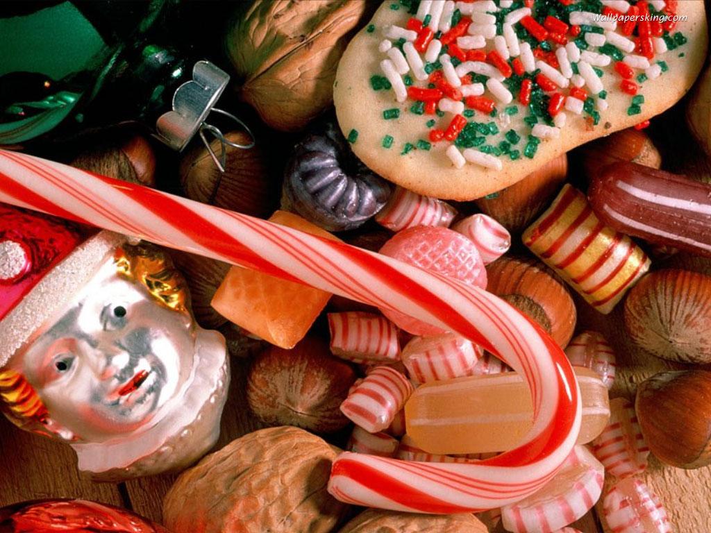 Новогодние сладости скачать картинки