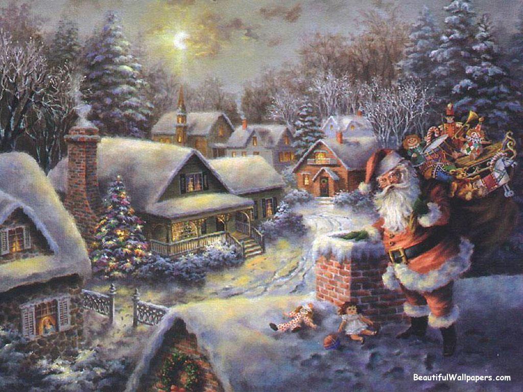 Картинка новогодние обои картинки и