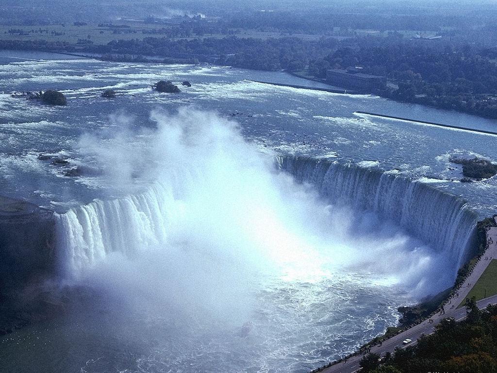 скачать заставку ниагарский водопад