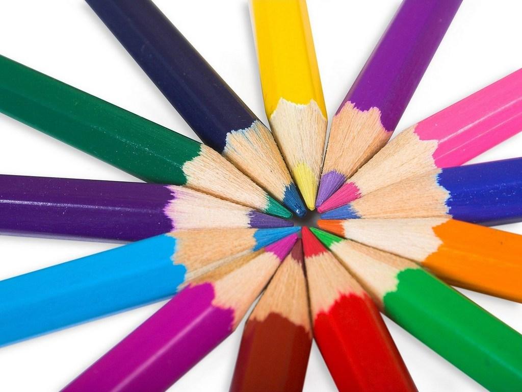 Картинки цветов нарисованные карандашом цветные 4