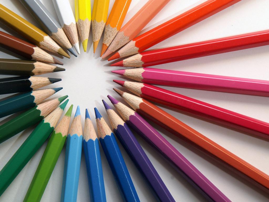 Картинка со всеми цветами радуги 2