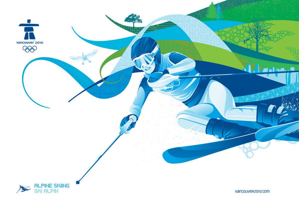 Berg Skifahrer Bilder und Widescreen-Wallpaper →