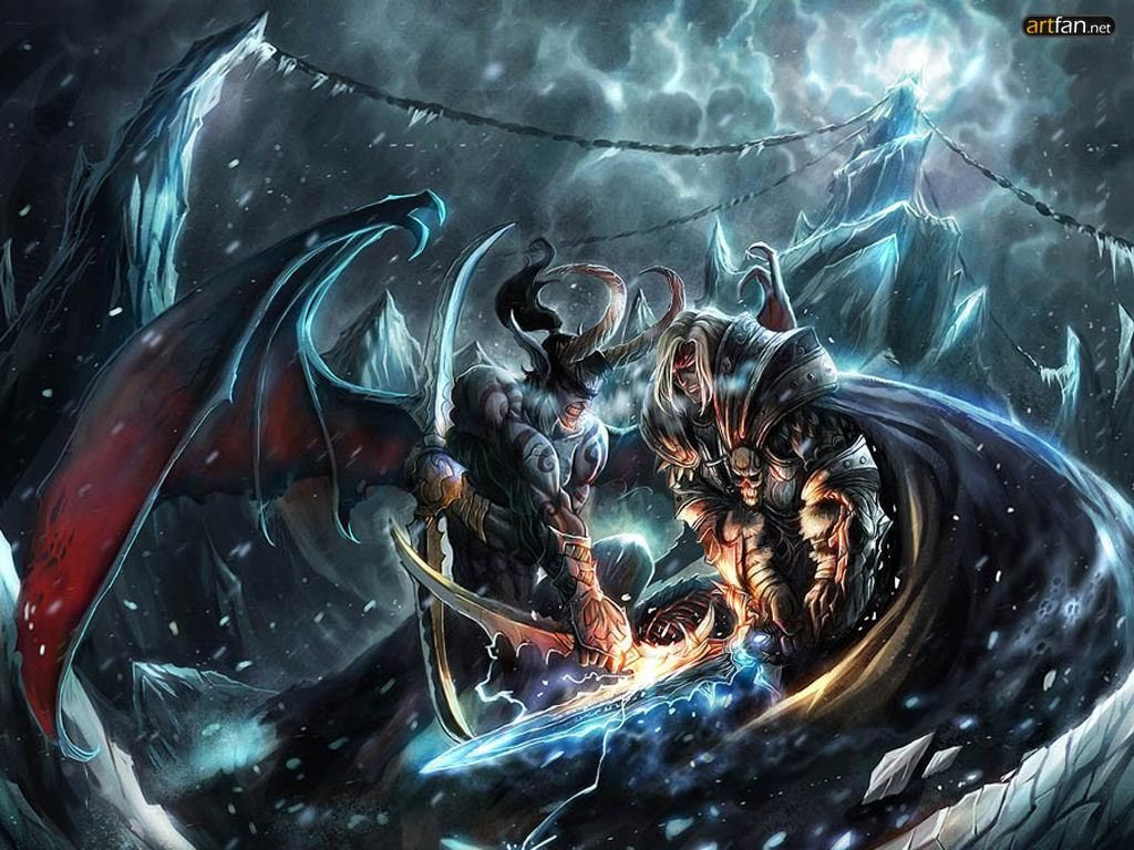 Pictures  Illidan and ...
