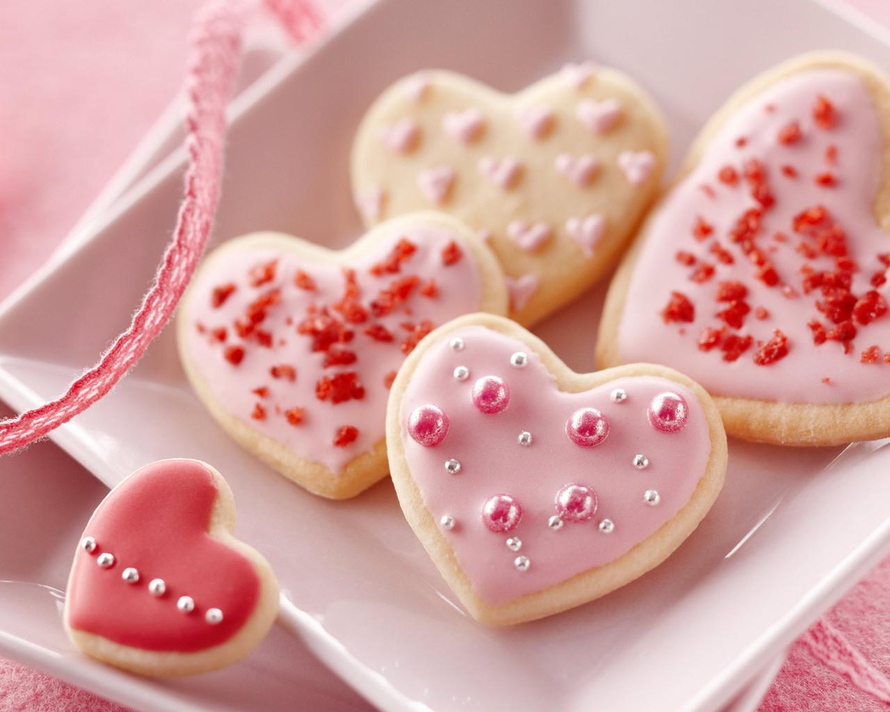 Печенье к 14 февраля своими руками