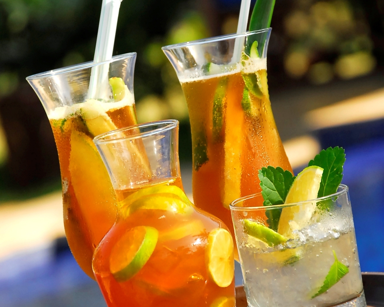Освежающие напитки обои