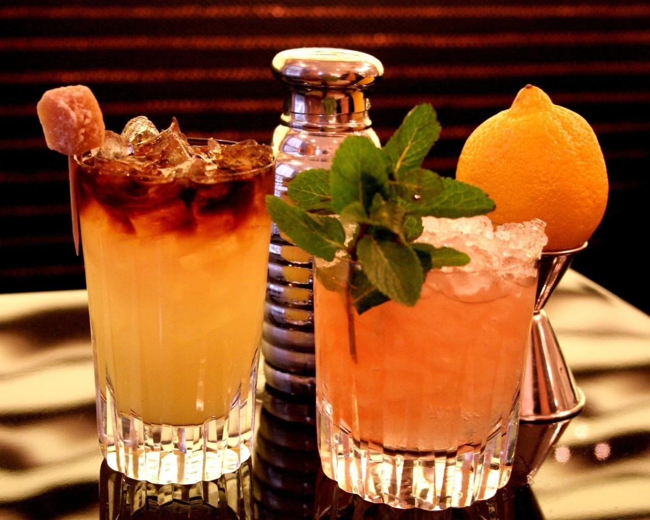 Картинки коктейли в баре