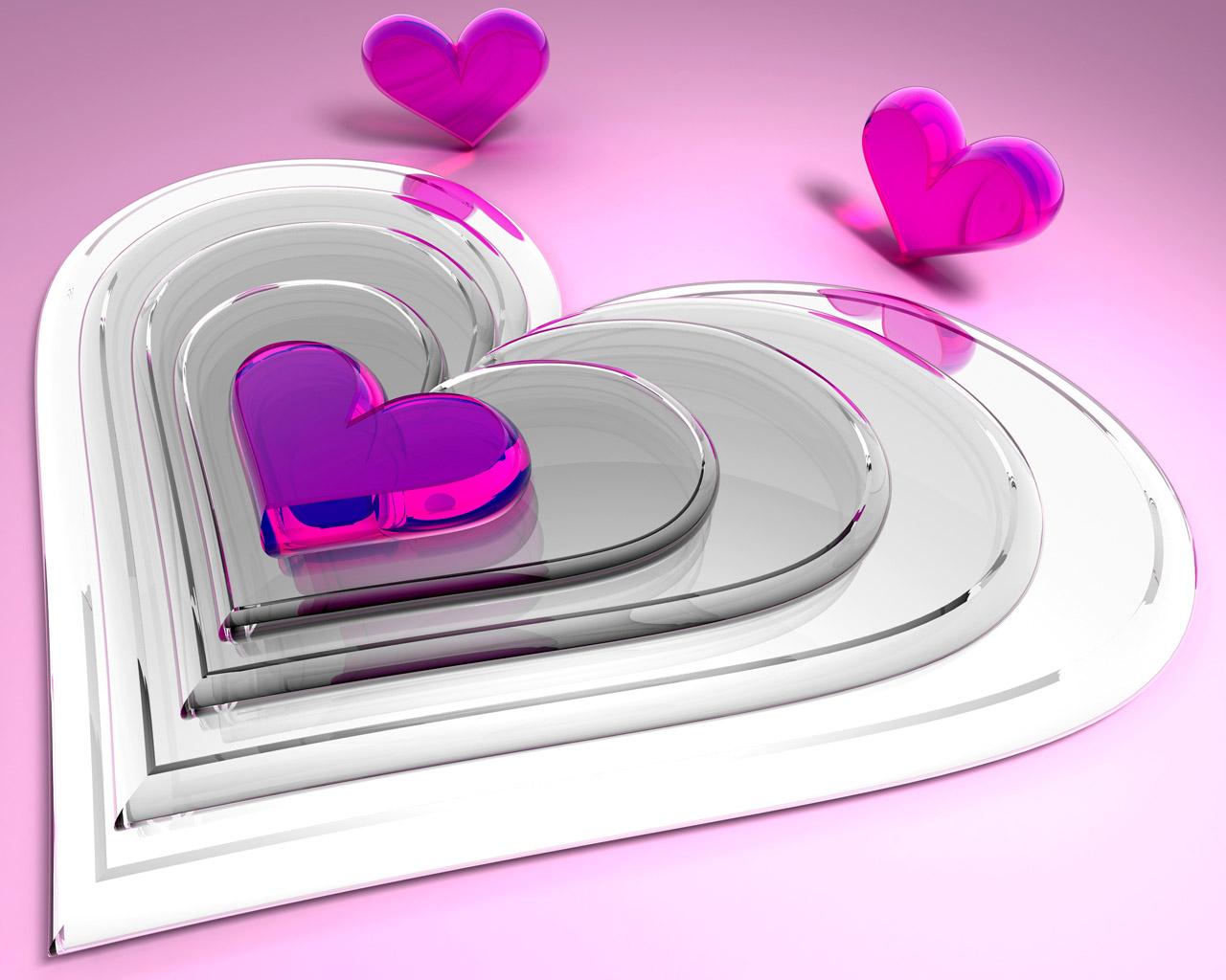 Картинка серця 3d скачати картинки