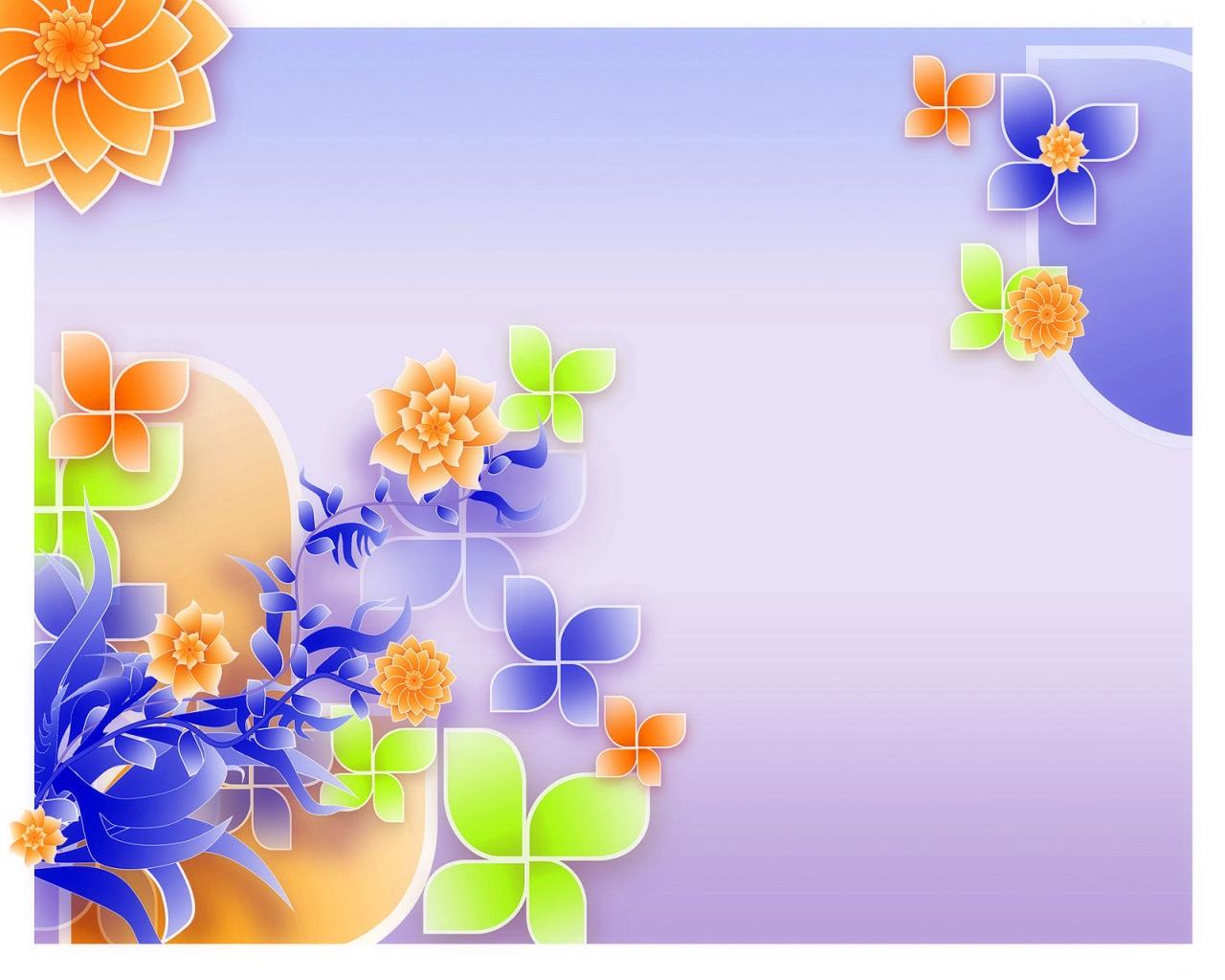 Картинка цветочный узор 3d обои для