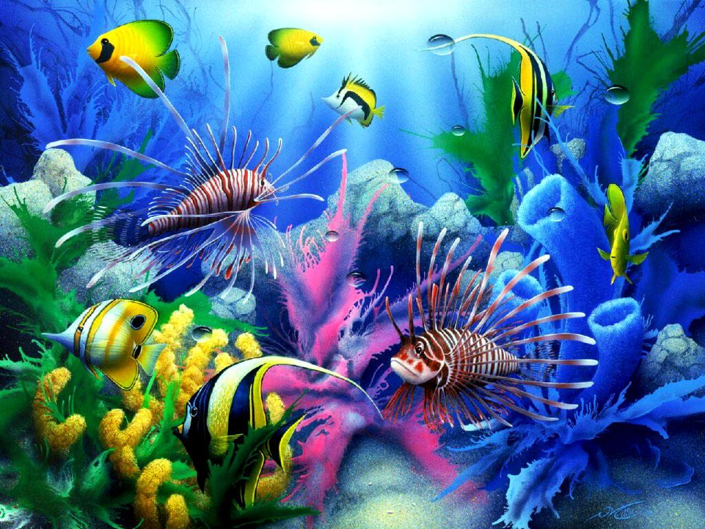 Підводний світ 3d картинки та якісні