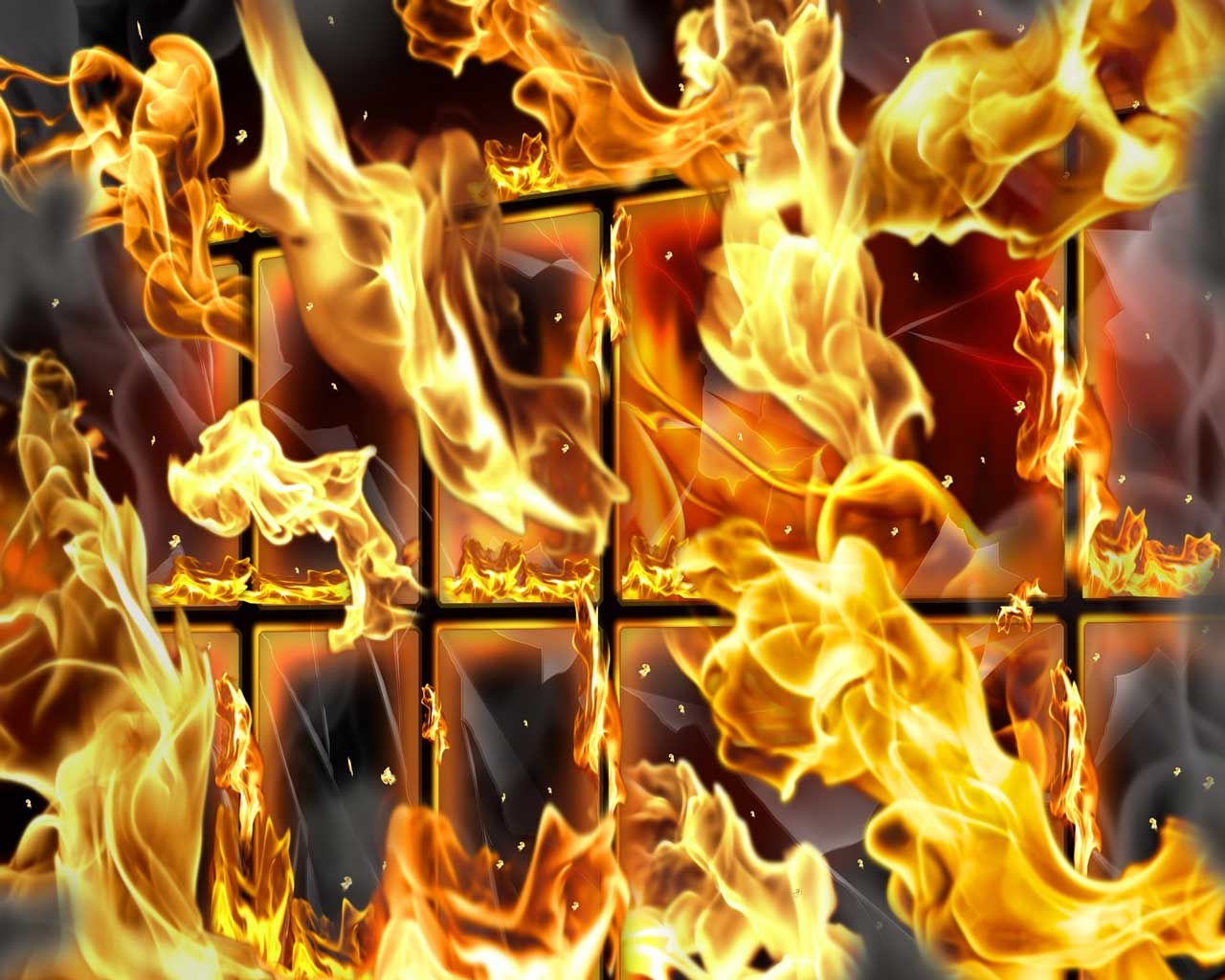 Картинка пламя огня на компьютер обои