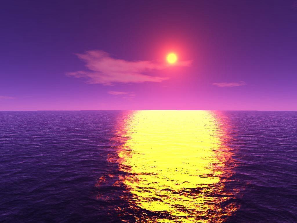 население как нарисовать отражение солнца утром в воде Истринский драматический