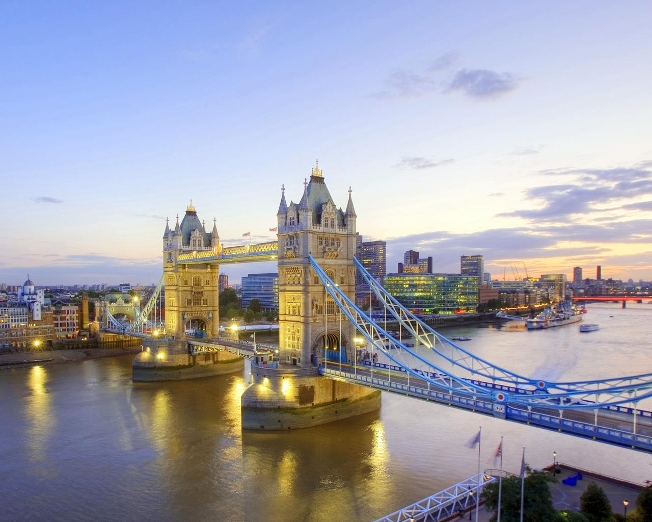 Англия лондон тауэрский мост
