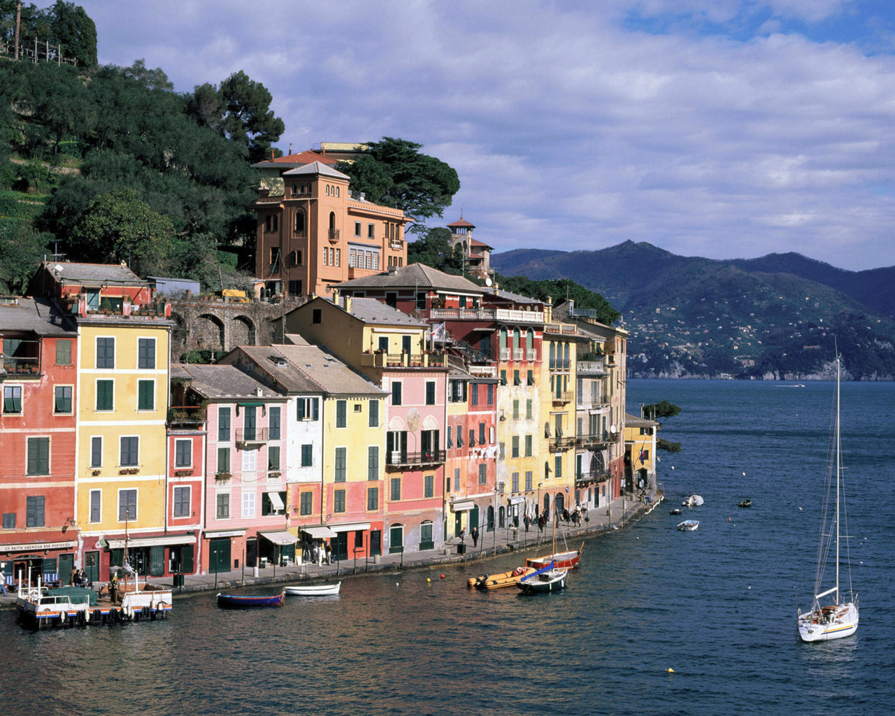 Картинка италия лигурия портофино