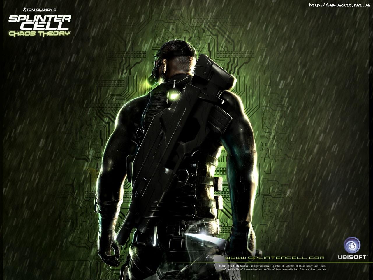 Обои Splinter Cell 3 Chaos Theory.