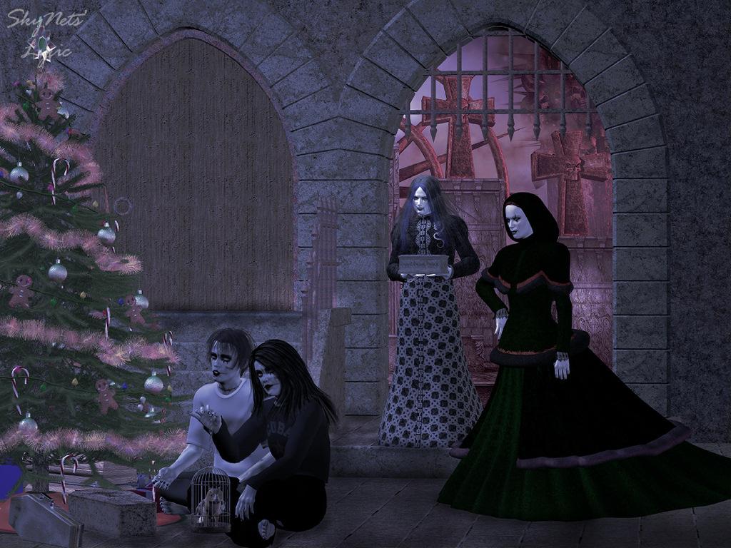 bild weihnachten vampire gothic wallpaper. Black Bedroom Furniture Sets. Home Design Ideas