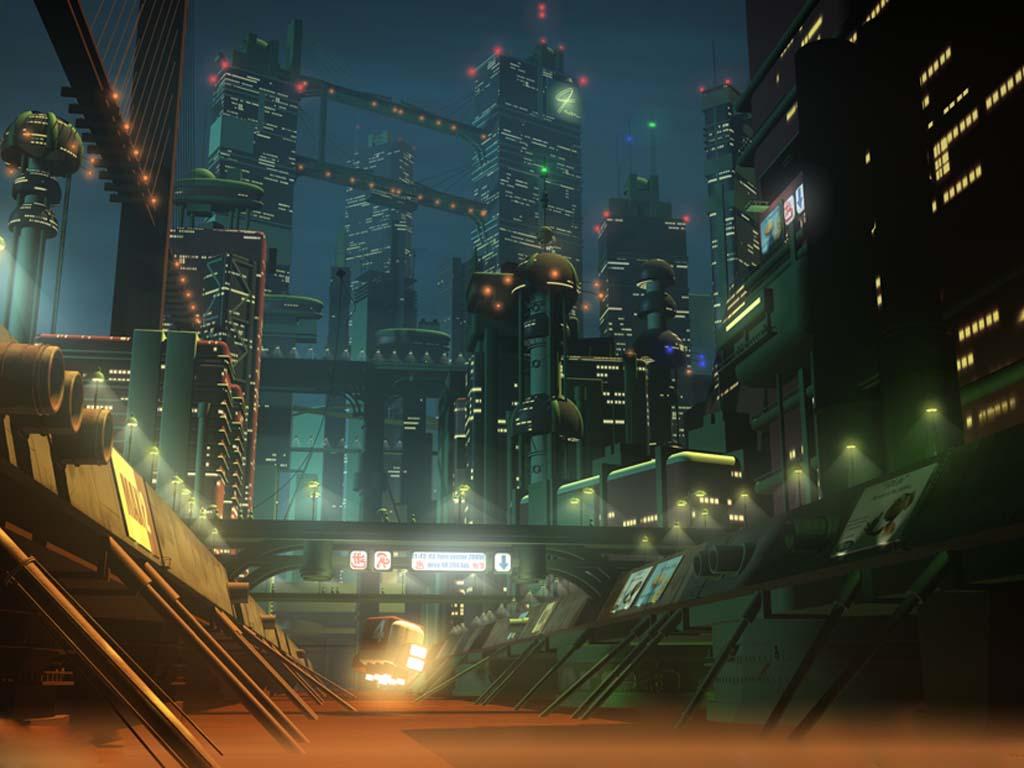 Праздники в городе будущего