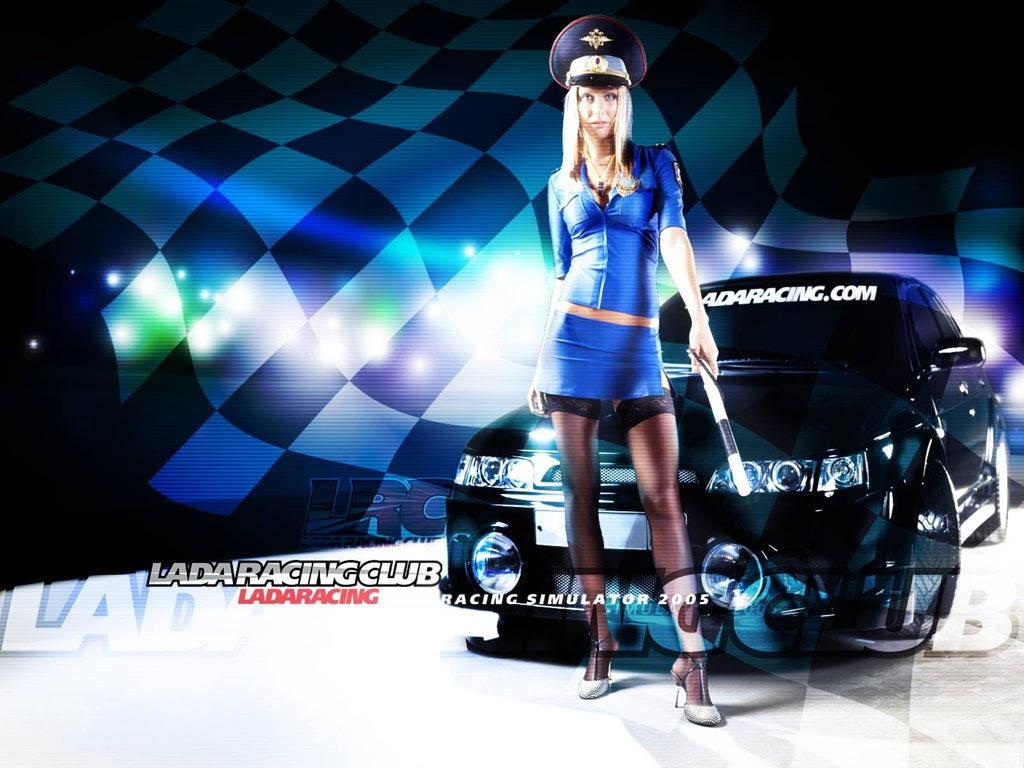 Wallpaper Lada Racing Club 2.
