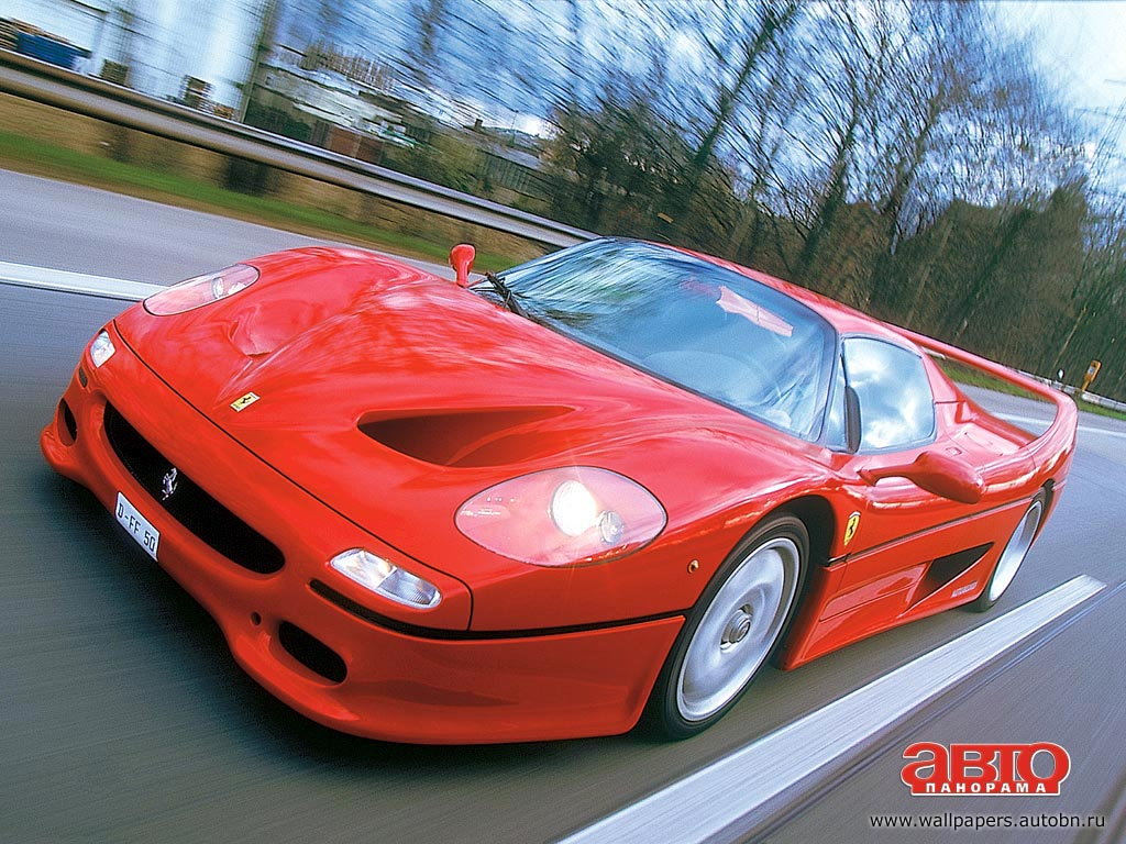 Модель авто Ferrari F50 была выпущен…