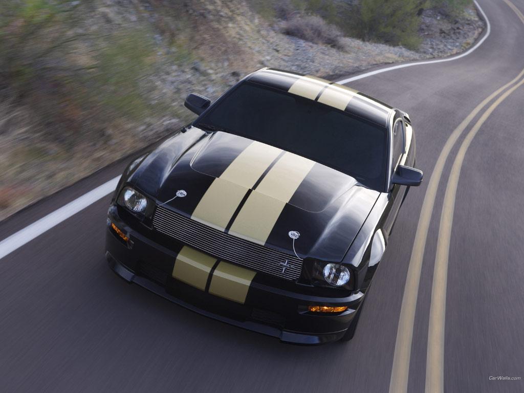Фотогалерея Ford Mustang Shelby.